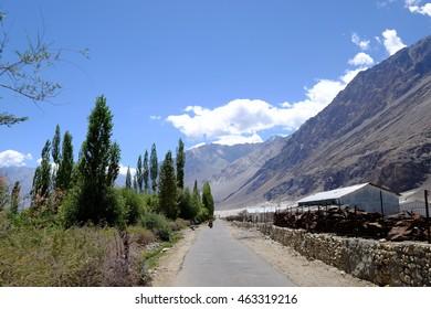 Road to Nubra Valley, Leh, Ladakh, India