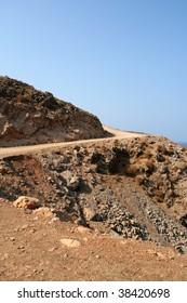 road on the crete