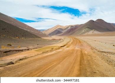 Road to Paso San Francisco, Copiapo, Chile