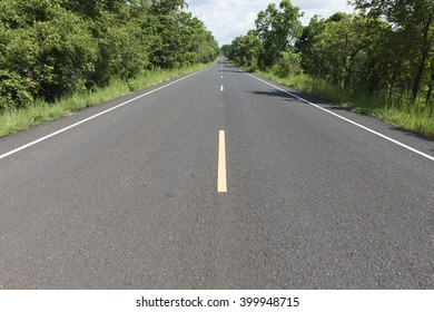road perspective view