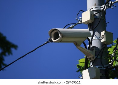 road police supervision outdoor video camera