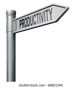 road to productivity industrial or business productive
