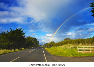 Road to the rainbow.