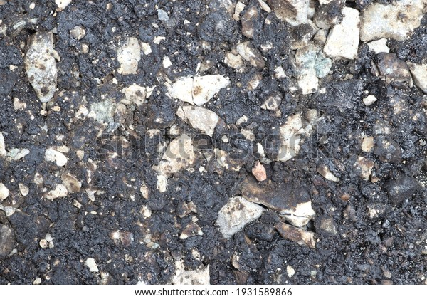 Road recycling, compacted laboratory sample