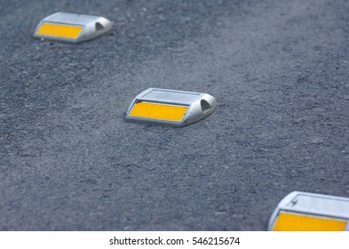 Road reflector for night ride safety