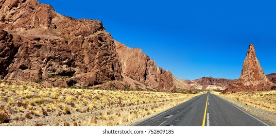 Road RN25 Province of Chubut. Department of Martires. Argentina.