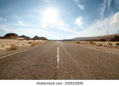 Road to Saint Catherine's Monastery, Egypt, South Sinai