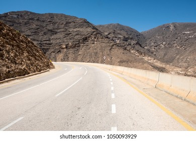 Road from Salalah to Yemen border, Sultanate of Oman
