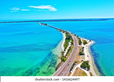 Road to Sanibel Island, Florida