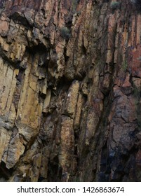 Road Side Broken Rock Formation
