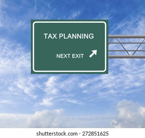 Road sign to asset allocation, insurance planning, tax planning