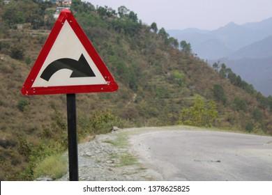 road sign board, in india,always follow road safty rule