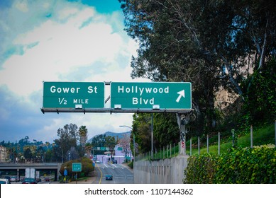 Road Sign California USA