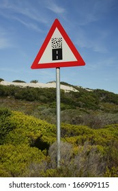 Road Sign, Endagered Animal, Protection, Warning, South Africa
