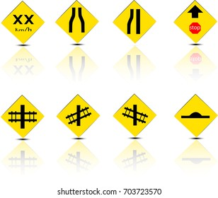 Road Sign Glossy.