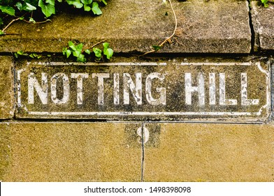 """Road Sign saying """"Notting Hill"""""""