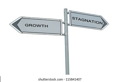 Road signs to growth and stagnation