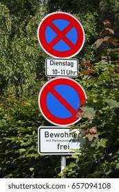 Road  Signs No Parking