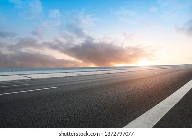 Road and Sky Landscape