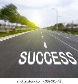 Road To Success Bilder Stockfotos Vektorgrafiken Shutterstock