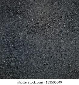 Road surface of the asphalt