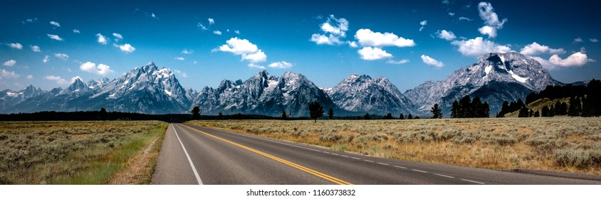 Road to the Tetons, Wyoming