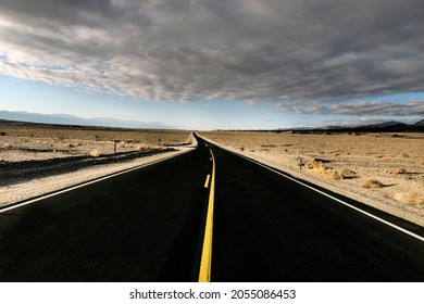 Road through Death Valley. Original image from Carol M. Highsmithrsquo;s America, Library of Congress collection. Digitally enhanced by rawpixel.