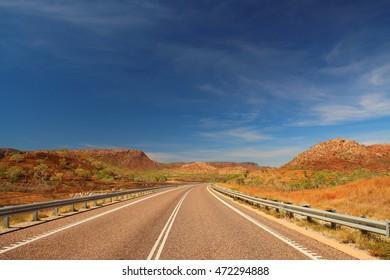 Road through Kimberley, Australia