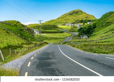 Road towards Bunglass Point, Ireland