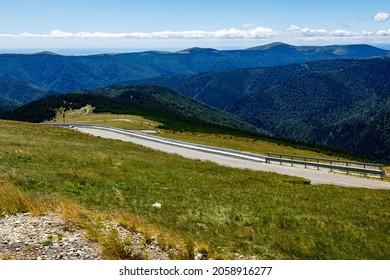 The road Transalpinain the Carpathian Mountains of Romania