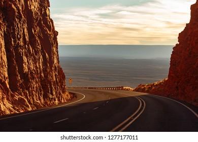 Road trip to Grand Canyon, Arizona, USA