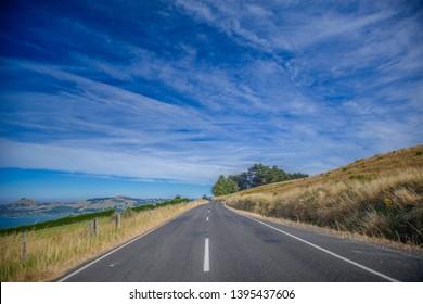 road trip on New Zealand, from Dunedin to Waitati