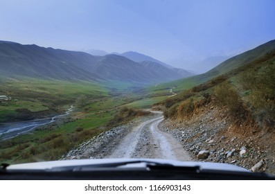 Road trip through the hills and mountains
