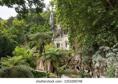 Road trip through Portugal from Lisbon to Sintra lost house in the jungle