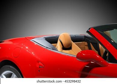 road trip, travel in convertible car