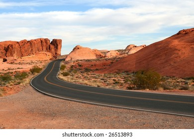 Road in Valley of Fire