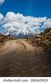 Road to the volcanos
