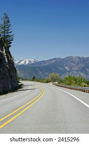 Road in Washington State,  USA