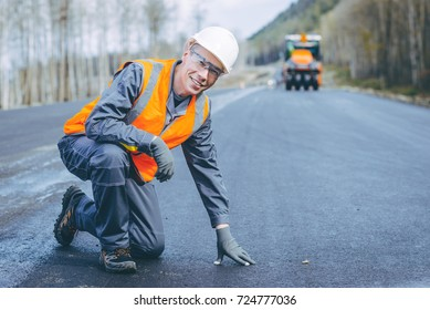 road worker construction