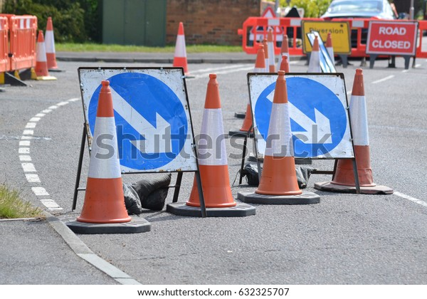 road works in England