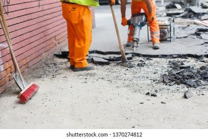 Road works man