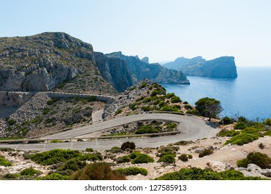 Roads and Nature at Majorca