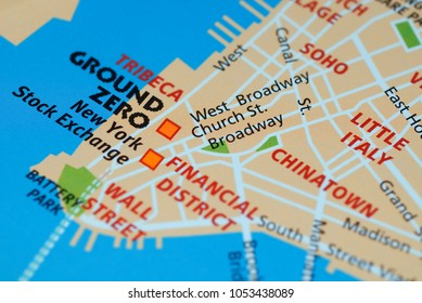 Manhattan Map Stock Photos Images Photography Shutterstock