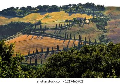 Roads in Tuscany