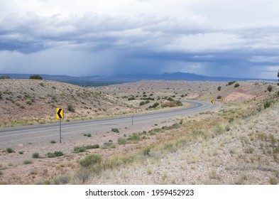 roads in the U.S.A. on the route 66 - Shutterstock ID 1959452923