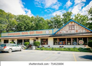 Roadside America, Indoor Miniature Village, Shartlesville, PA. September 9, 2017.