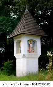 Roadside shrine, Bildstock, Marterl, in Carinthia Austria