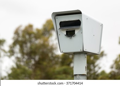 Roadside Speed Camera / Safety Camera in Melbourne, Australia.