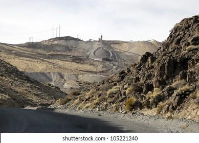 Roadstone Quarry, Nevada, USA