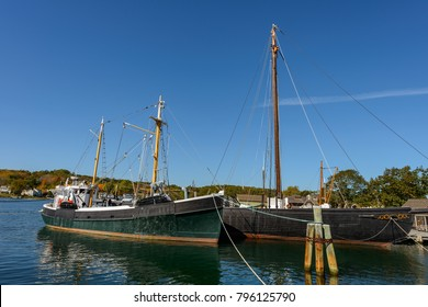 Roann at Mystic Seaport, Roan is one of the last surviving examples of the fishing vessels